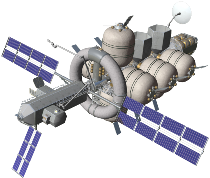 Nautilus-X deep-space exploration vehicle