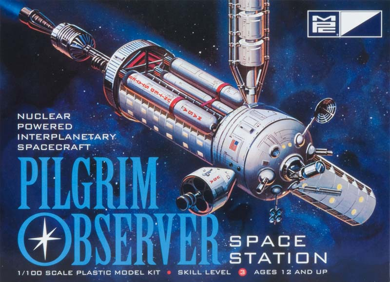 Pilgrim Observer Space Station model kit