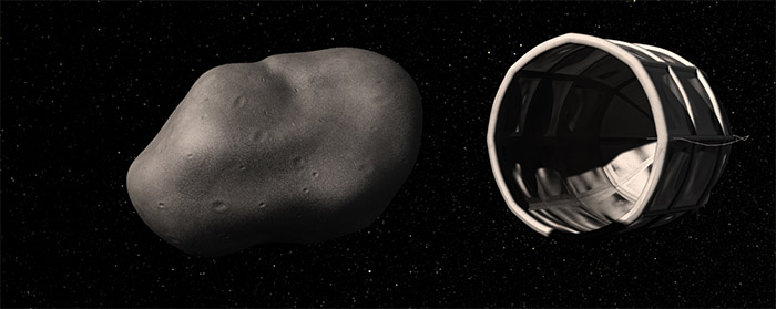 Planetary Resources robot captures water-rich asteroid