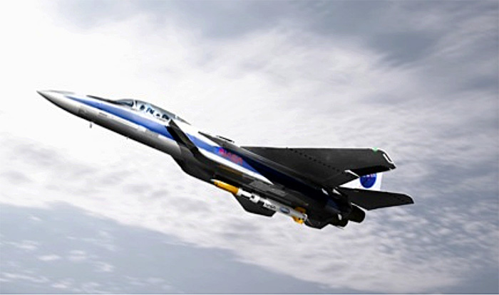 DARPA ALASA airborne rocket launch concept F-15 Eagle