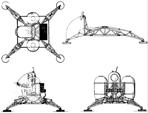 Project Gemini lunar lander