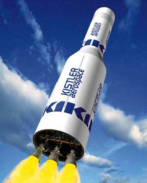 Kistler K-1 reusable launch vehicle (RLV)