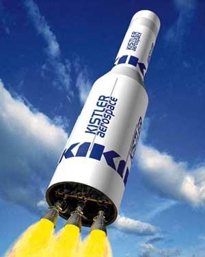 Kistler K-1 reusable launch vehicle (RLV)