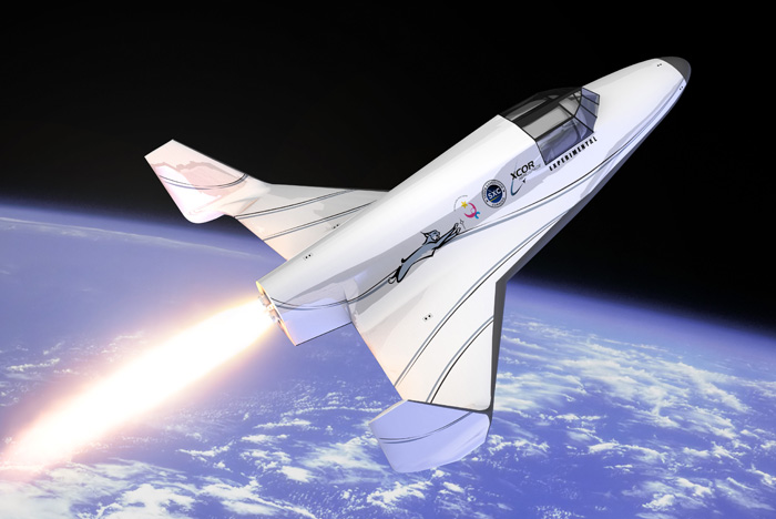XCOR Lynx suborbital spacecraft