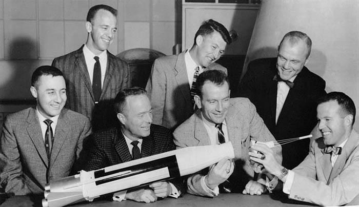 NASA Mercury 7 astronauts