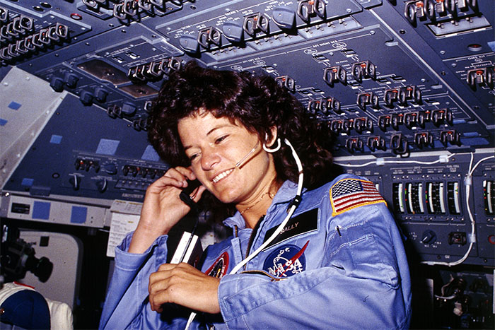 NASA astronaut Sally Ride