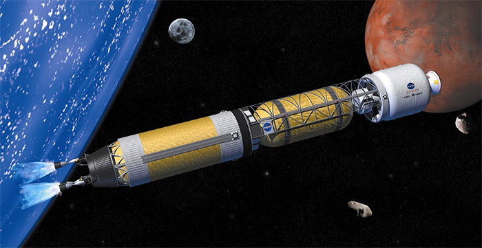 Nuclear Thermal Rocket -- NASA concept