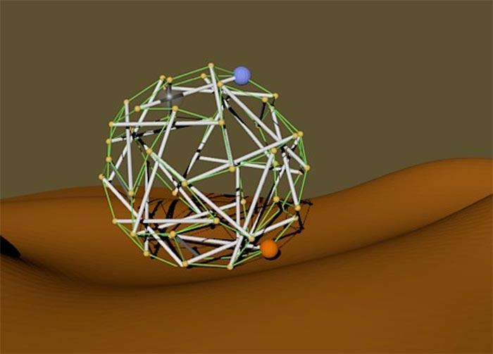 NASA Super Ball Bot tensegrity robot/lander