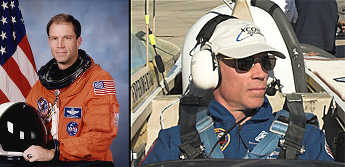 Former NASA Shuttle commander and XCOR chief test pilot astronaut Col. Rick Searfoss
