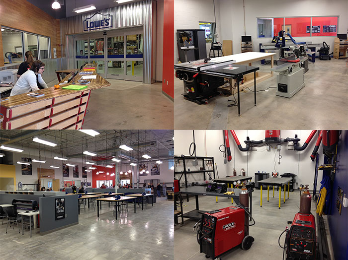 TechShop Austin-Rock Rock location