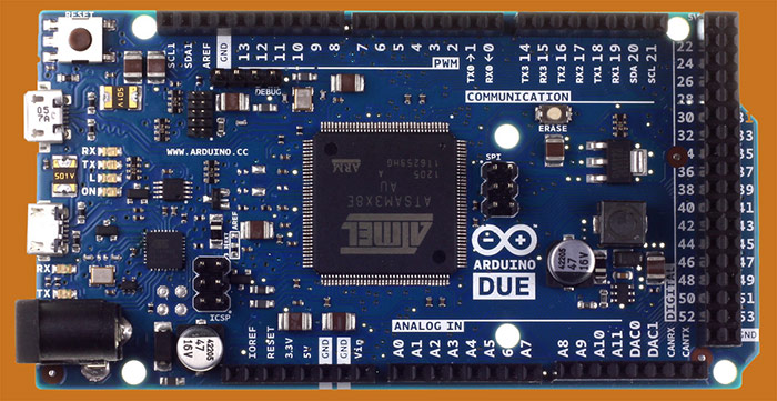 Arduino Due 32-bit microcontroller board