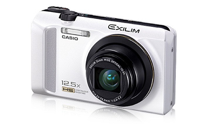 Casio EZ-ZR200 high-speed camera