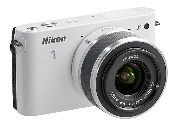 Nikon 1 J1 interchangeable lens mirrorless camera