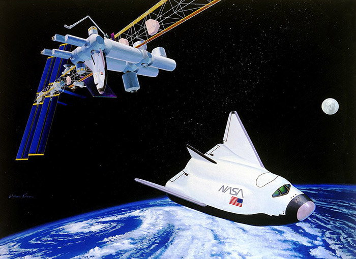 NASA HL-20 Personnel Launch System concept circa 1996