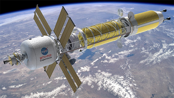 NASA Copernicus MTV nuclear-rocket deep-space exploration ship