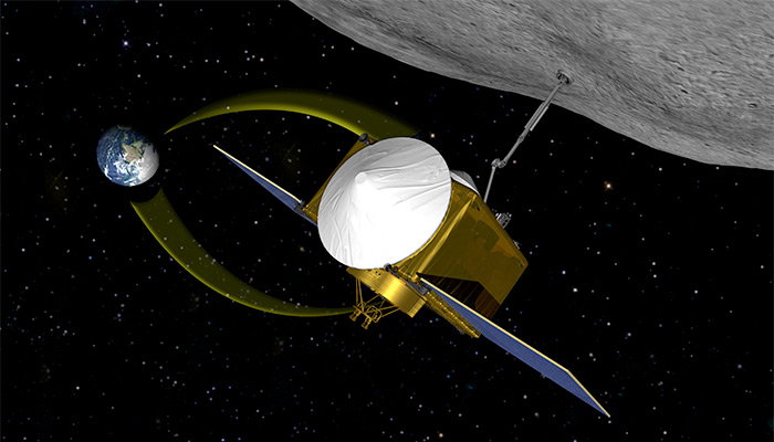 NASA Origins Spectral Interpretation Resource Identification Security Regolith Explorer (OSIRIS-REx) asteroid sample return mission