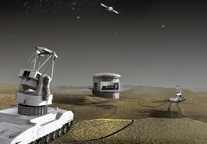 Defense Advanced Research Projects Agency (DARPA) Galileo interferometer telescope system
