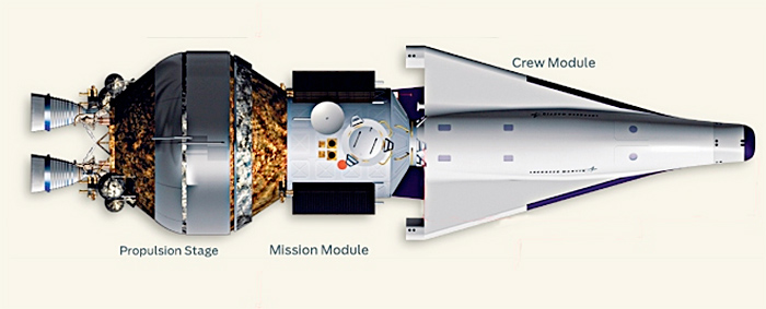 Lockheed Martin NASA crew exploration vehicle original concept circa 2005