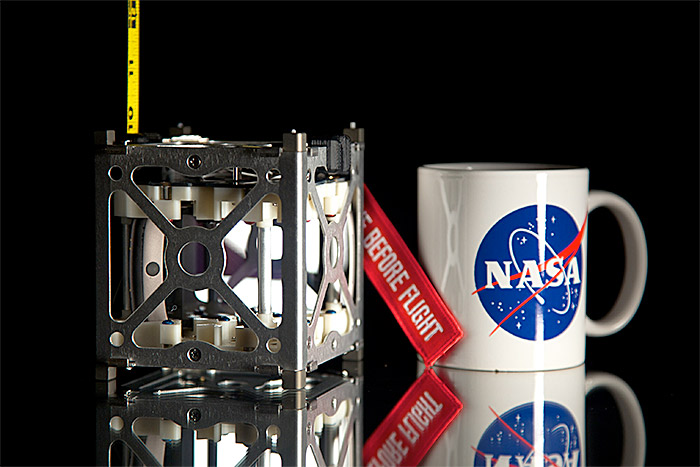 NASA PhoneSat 1U CubeSat nanaosatellite based on smartphone technology 