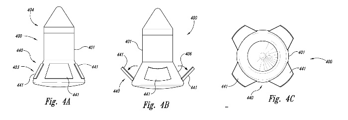 Blue Origin patent drawings