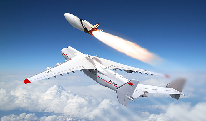 Russian MAKS spaceplane