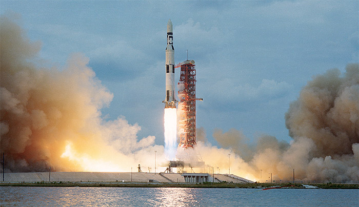 Satrun V / Skylab I launch at Kennedy Space Center