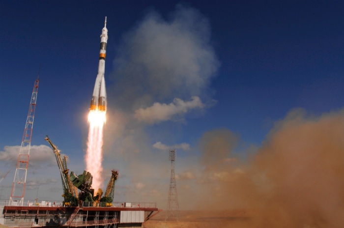 Russian Soyuz rocket launch