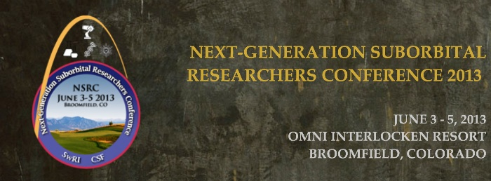 Next Generation Suborbital Researchers Conference
