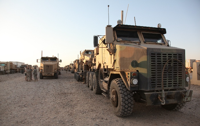 US military equipment in Iraq