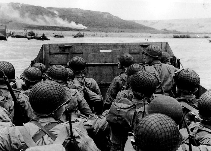 World War II amphibious landing
