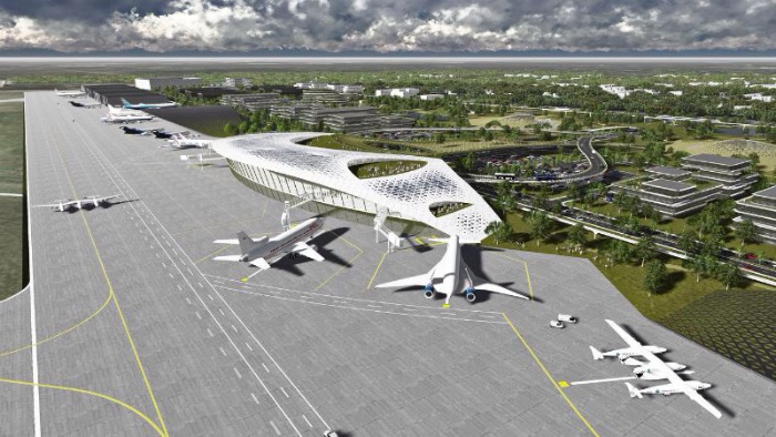 Proposed Houston Spaceport at Ellington Airport