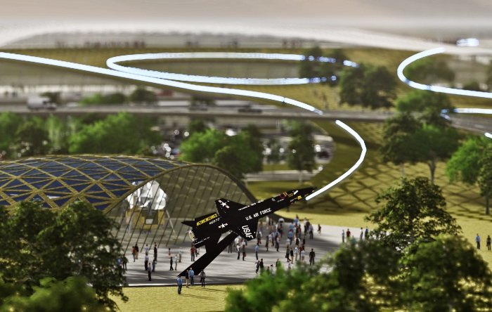 Proposed Houston spaceport