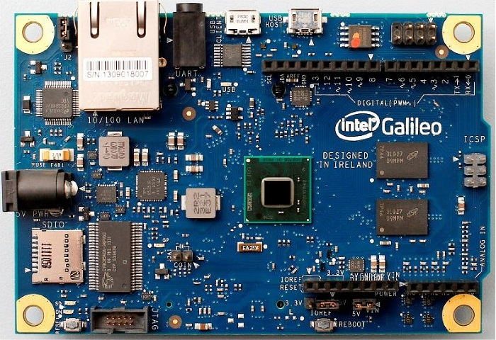 Intel Galileo Arduino board