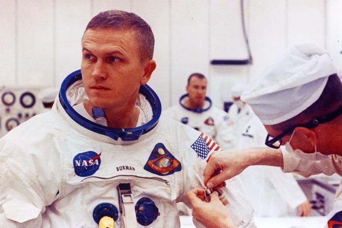 NASA astronaut Frank Borman