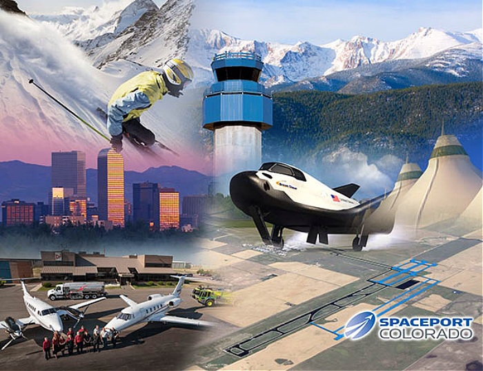 Spaceport Colorado montage