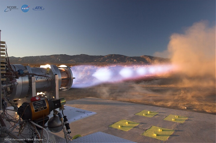 XCOR/ATK XR-5M15 rocket engine