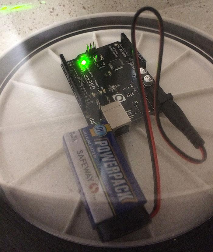 OSEPP Uno Arduino clone vacuum test