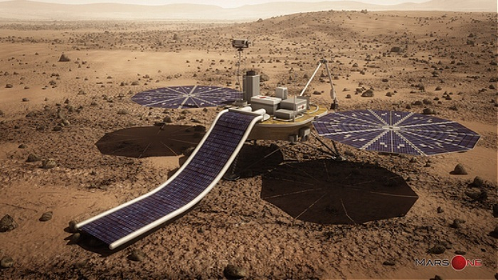 Mars One proposed private Mars lander