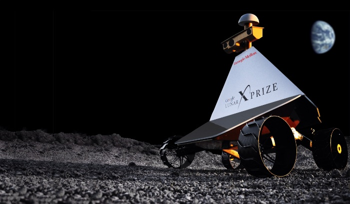 Astrobotic rover competing for Google Lunar X-Prize