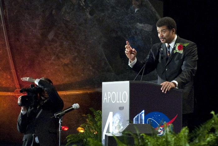 Neil deGrasse Tyson at NASA 40th Anniversary Celebration for Apollo