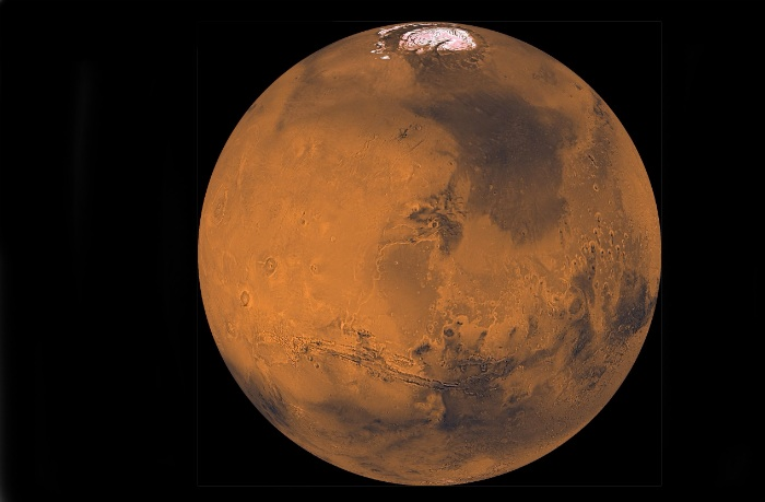 Viking image of Mars (composite)