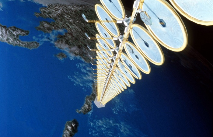 NASA space-based solar-power satellite concept