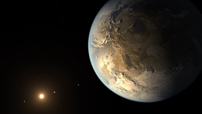 Artist's conception of Kepler 186-f
