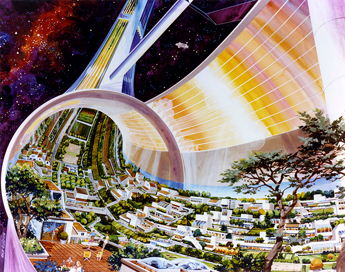 Stanford Torus space-settlement design