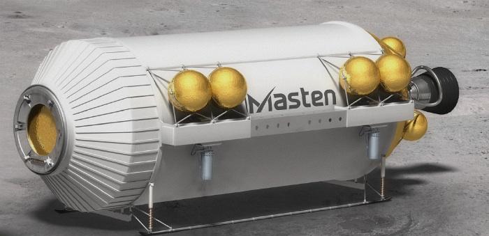 Masten Space Systems Xeus lunar lander