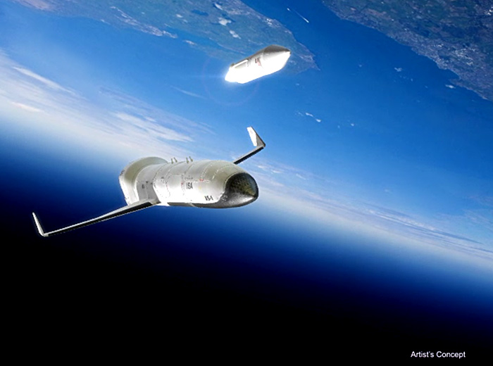 DARPA Experimental SpacePlane-1 (XS-1) staging