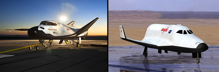 Sierra Nevada Dream Chaser / Orbital Sciences Prometheus