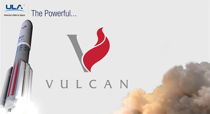 United Launch Alliance Vulcan rocket logo