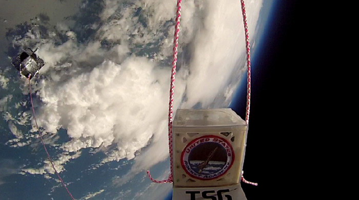 Citizens in Space/TSG/SEDS balloon payload