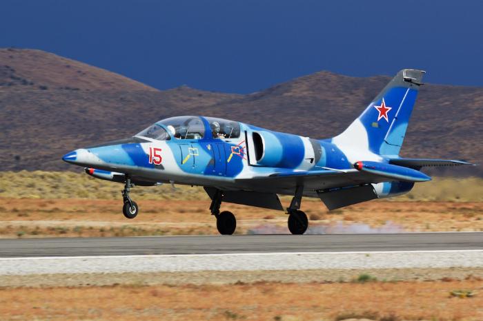 L-39C Albatros jet trainer